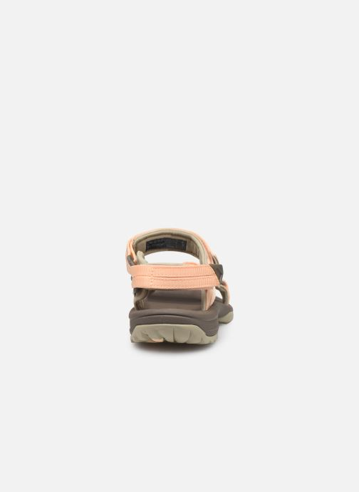 Sandals Teva Terra Fi Lite Beige view from the right