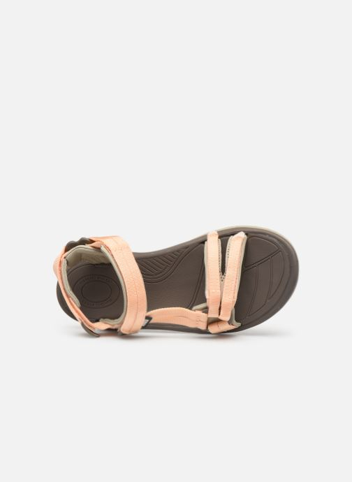 Sandals Teva Terra Fi Lite Beige view from the left