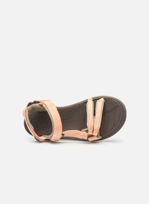 Sandales et nu-pieds Teva Terra Fi Lite Beige vue gauche