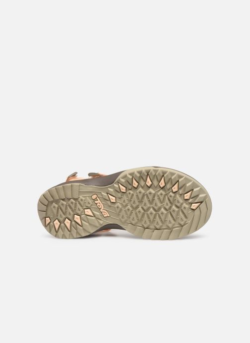 Sandals Teva Terra Fi Lite Beige view from above