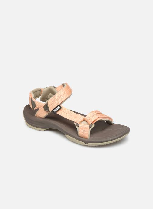 Sandales et nu-pieds Teva Terra Fi Lite Beige vue détail/paire