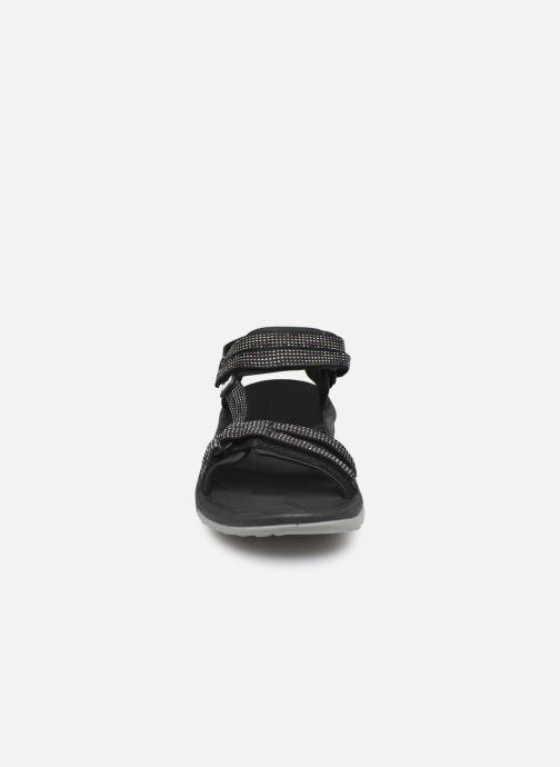 Sandales et nu-pieds Teva Terra Fi Lite Noir vue portées chaussures