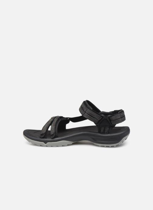 Sandales et nu-pieds Teva Terra Fi Lite Noir vue face
