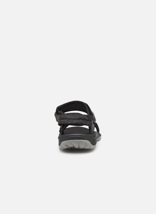 Sandals Teva Terra Fi Lite Black view from the right