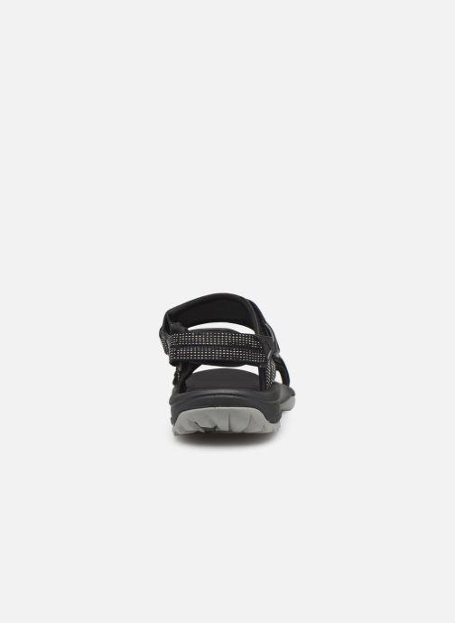 Sandales et nu-pieds Teva Terra Fi Lite Noir vue droite