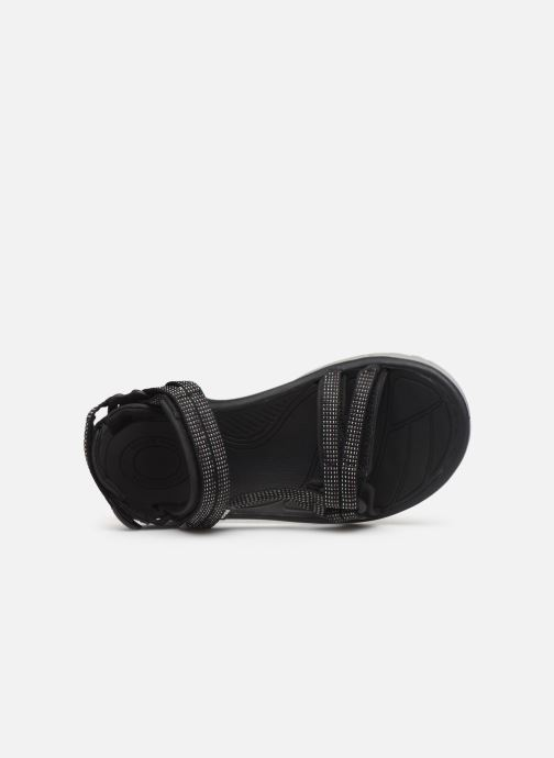 Sandales et nu-pieds Teva Terra Fi Lite Noir vue gauche