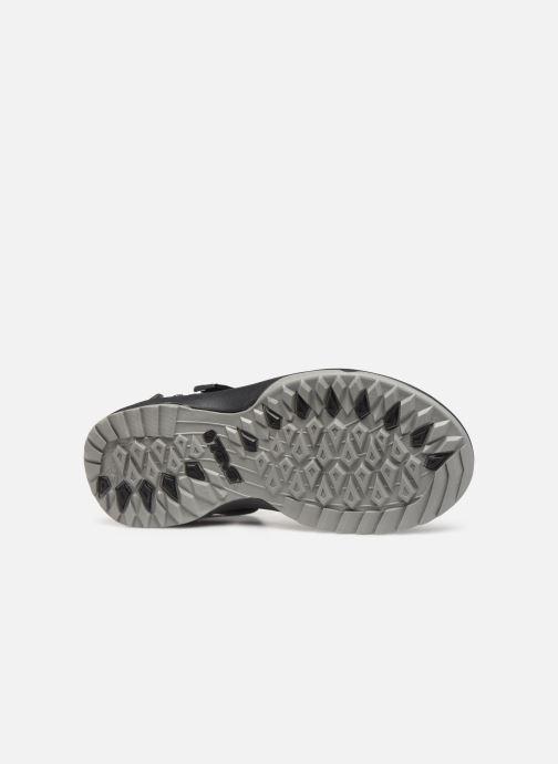 Sandales et nu-pieds Teva Terra Fi Lite Noir vue haut