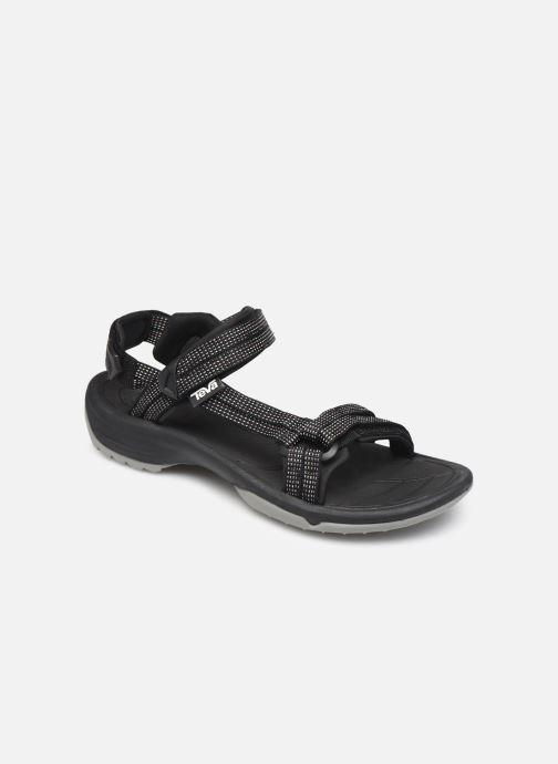 Sandales et nu-pieds Teva Terra Fi Lite Noir vue détail/paire