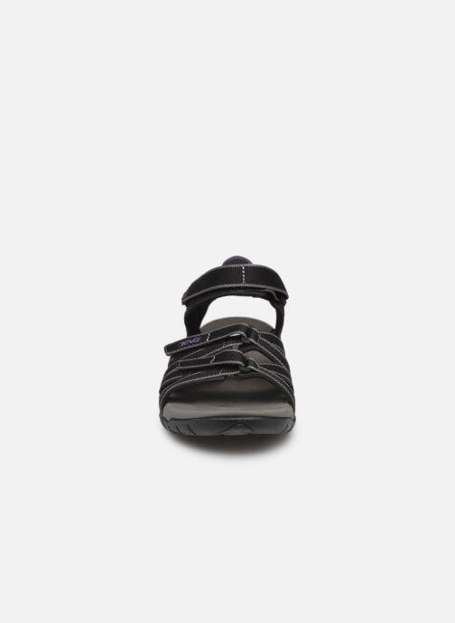 Sandales et nu-pieds Teva Tirra Noir vue portées chaussures