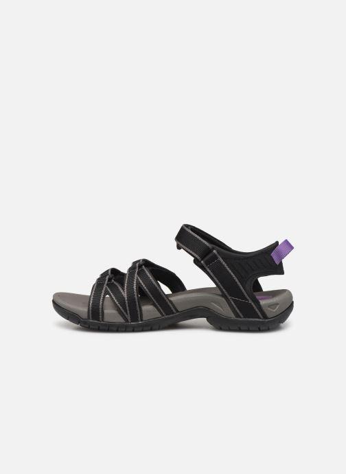 Sandales et nu-pieds Teva Tirra Noir vue face