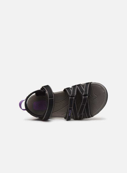 Sandales et nu-pieds Teva Tirra Noir vue gauche