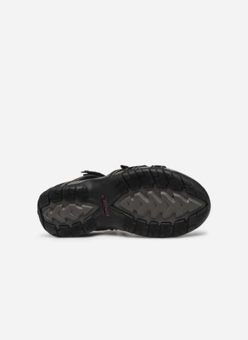 Sandali e scarpe aperte Teva Tirra Nero immagine dall'alto