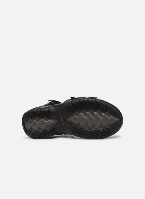 Sandales et nu-pieds Teva Tirra Noir vue haut