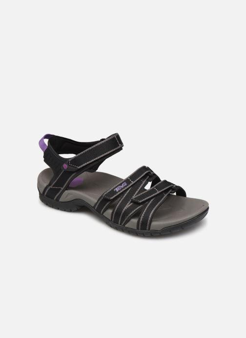 Sandales et nu-pieds Teva Tirra Noir vue détail/paire