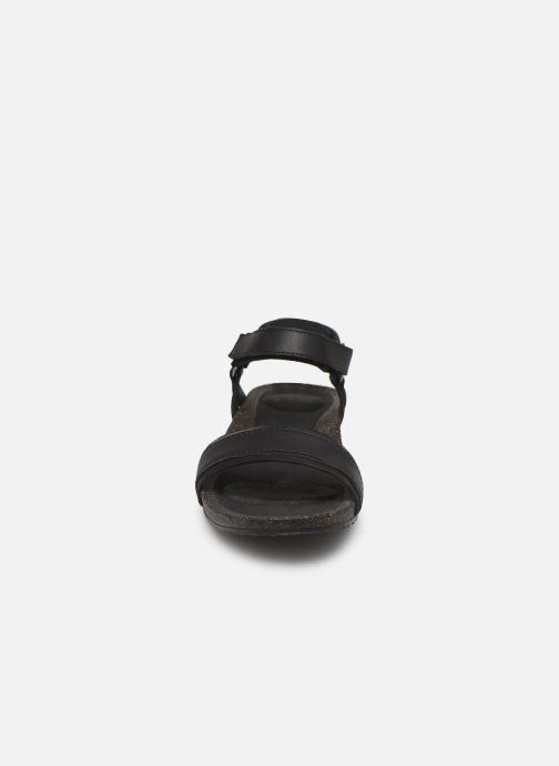 Sandales et nu-pieds Teva Ysidro Stitch Sandal Noir vue portées chaussures