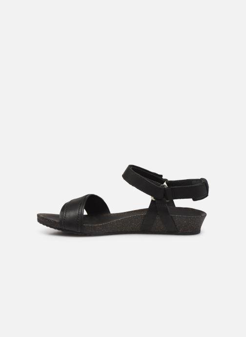 Sandales et nu-pieds Teva Ysidro Stitch Sandal Noir vue face