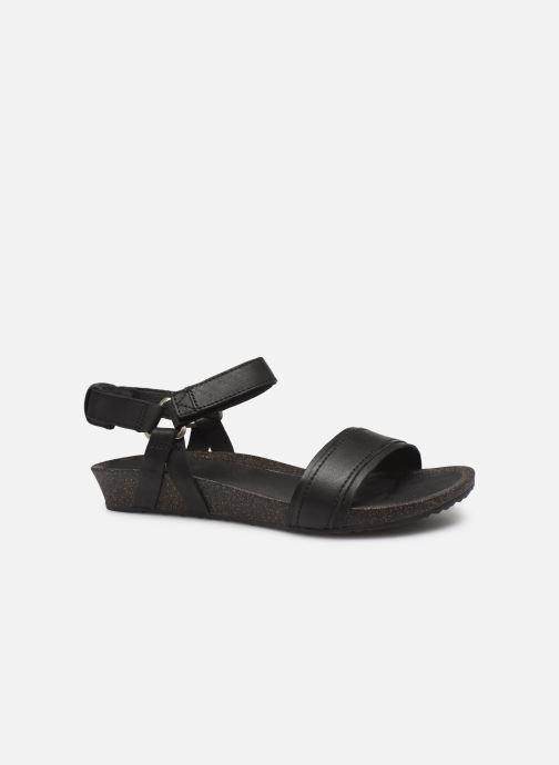 Sandalen Teva Ysidro Stitch Sandal Zwart achterkant