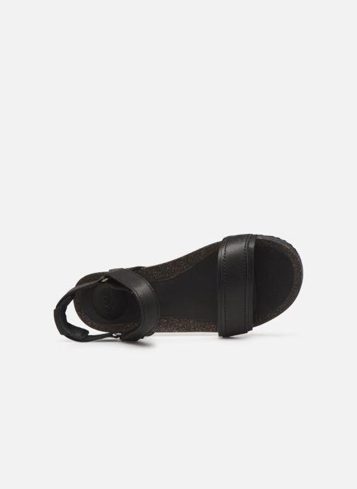 Sandales et nu-pieds Teva Ysidro Stitch Sandal Noir vue gauche