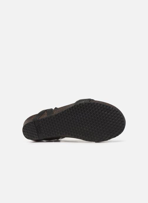Sandales et nu-pieds Teva Ysidro Stitch Sandal Noir vue haut