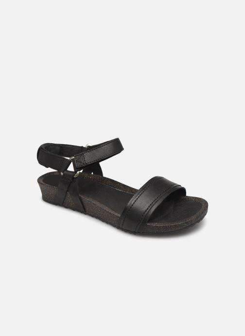 Sandalen Teva Ysidro Stitch Sandal Zwart detail