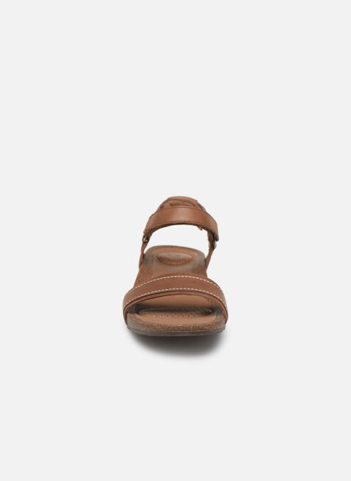 Sandales et nu-pieds Teva Ysidro Stitch Sandal Marron vue portées chaussures