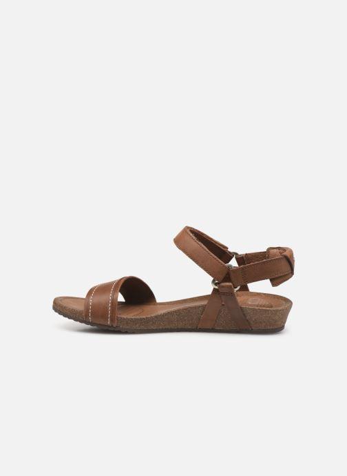 Sandalen Teva Ysidro Stitch Sandal Bruin voorkant