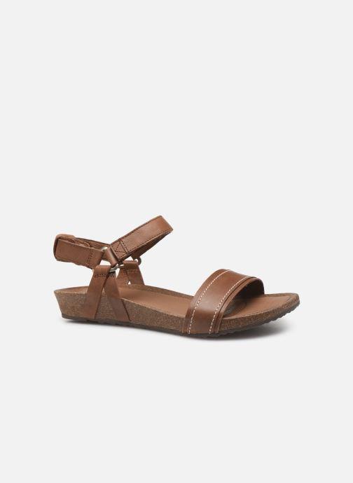 Sandales et nu-pieds Teva Ysidro Stitch Sandal Marron vue derrière