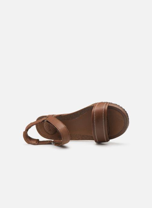 Sandales et nu-pieds Teva Ysidro Stitch Sandal Marron vue gauche