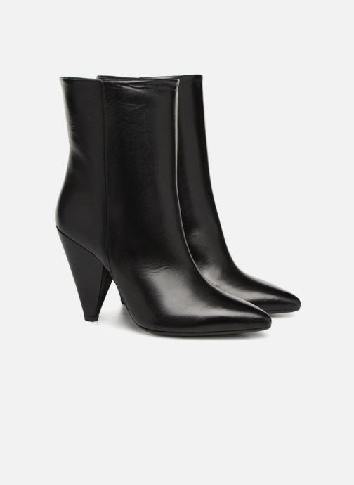 Bottines et boots Essentiel Antwerp Sluik boots Noir vue 3/4
