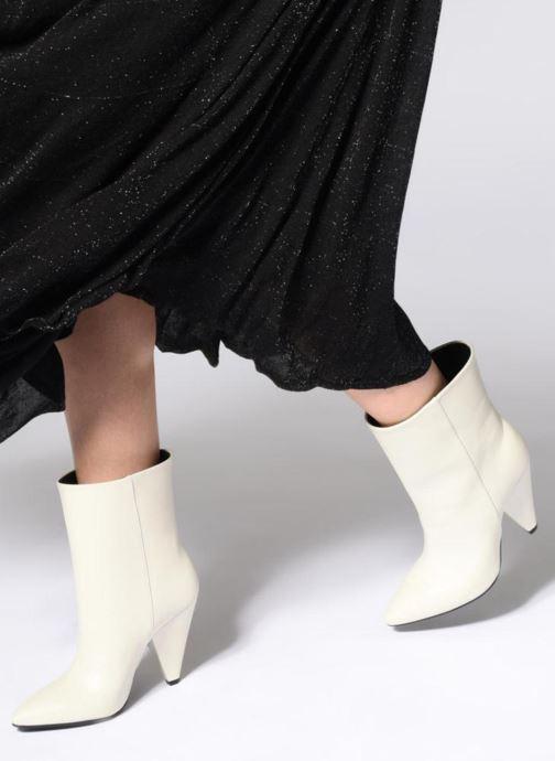 Botines  Essentiel Antwerp Sluik boots Negro vista de abajo