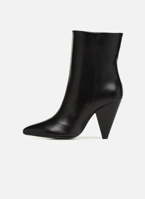 Bottines et boots Essentiel Antwerp Sluik boots Noir vue face