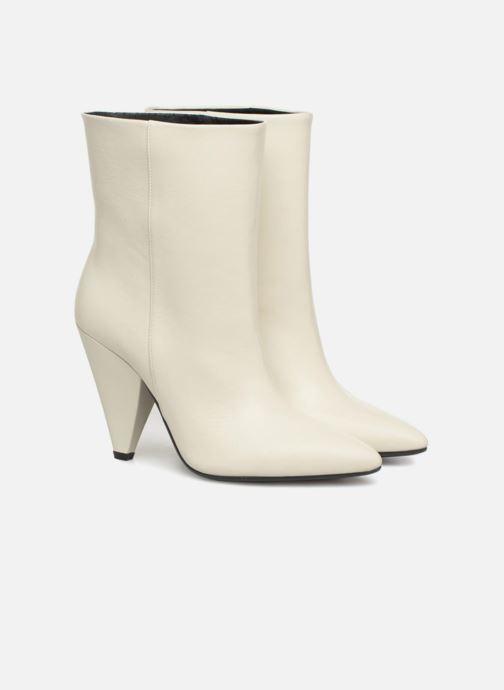Bottines et boots Essentiel Antwerp Sluik boots Blanc vue 3/4