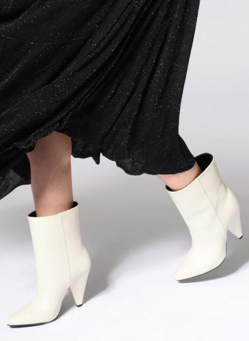 Bottines et boots Essentiel Antwerp Sluik boots Blanc vue bas / vue portée sac