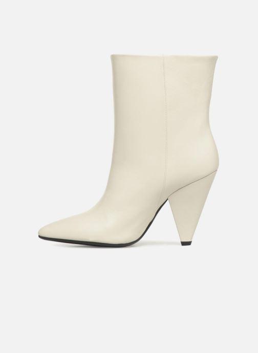 Bottines et boots Essentiel Antwerp Sluik boots Blanc vue face
