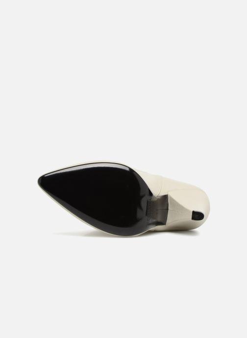 Bottines et boots Essentiel Antwerp Sluik boots Blanc vue haut