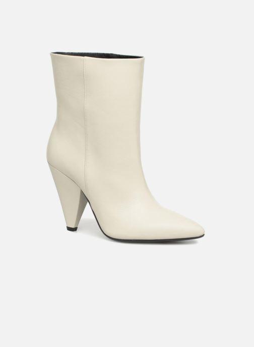 f0b4d97c2470 Bottines et boots Essentiel Antwerp Sluik boots Blanc vue détail paire