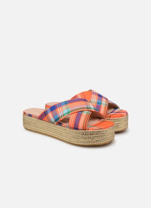 Zuecos Essentiel Antwerp Swelter sandals Naranja vista 3/4