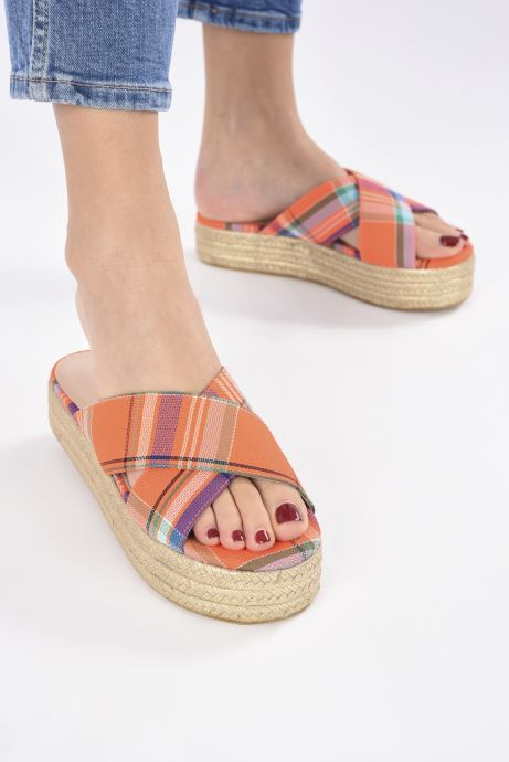 Wedges Essentiel Antwerp Swelter sandals Oranje onder