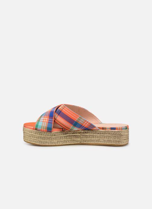Zuecos Essentiel Antwerp Swelter sandals Naranja vista de frente