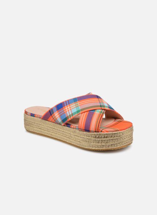 Wedges Essentiel Antwerp Swelter sandals Oranje detail