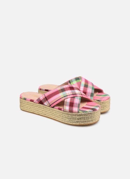 Mules et sabots Essentiel Antwerp Swelter sandals Rose vue 3/4