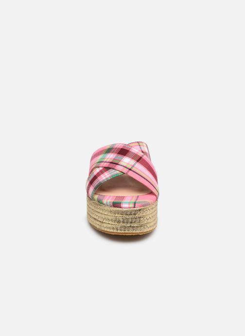 Mules et sabots Essentiel Antwerp Swelter sandals Rose vue portées chaussures