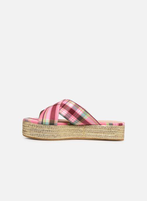 Mules et sabots Essentiel Antwerp Swelter sandals Rose vue face