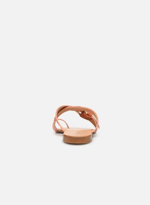 Sandalen Essentiel Antwerp Soquite sandals Oranje rechts