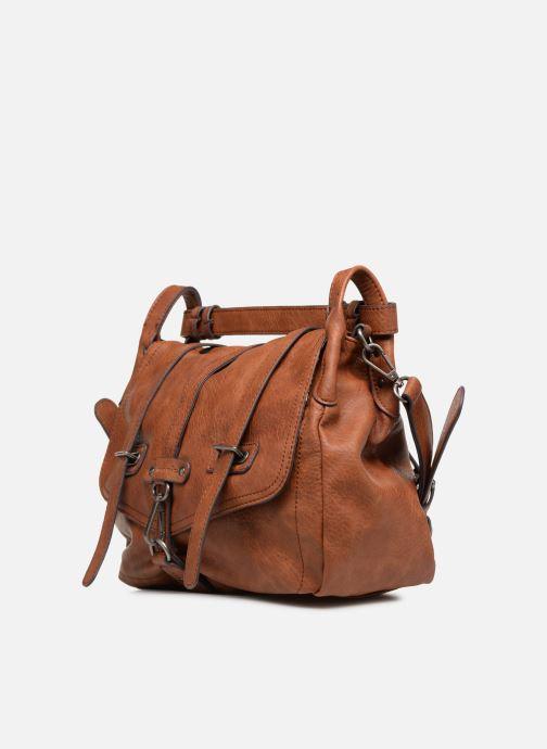 Handtassen Tamaris Bernadette Satchel Bag Bruin model