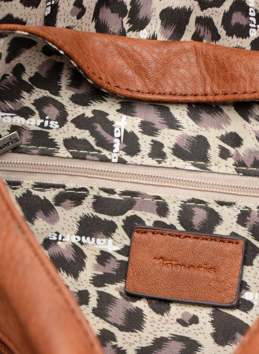 Handtassen Tamaris Bernadette Satchel Bag Bruin achterkant