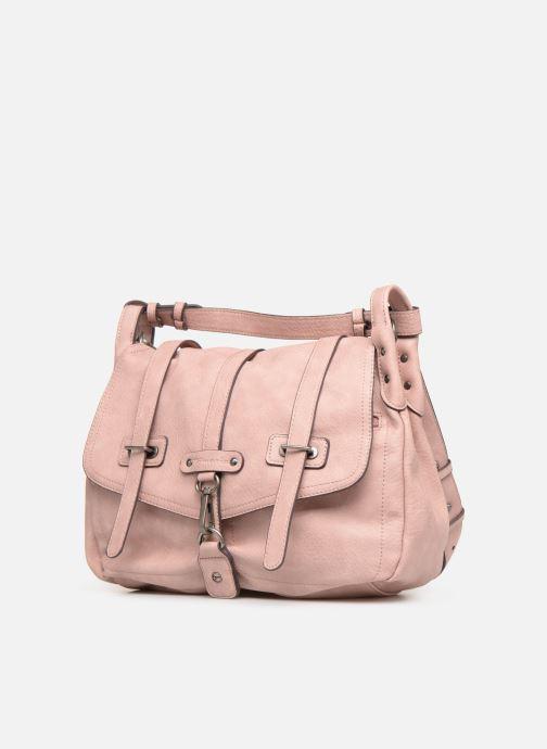 Borse Tamaris Bernadette Satchel Bag Rosa modello indossato