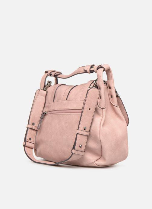 Handväskor Tamaris Bernadette Satchel Bag Rosa Bild från höger sidan