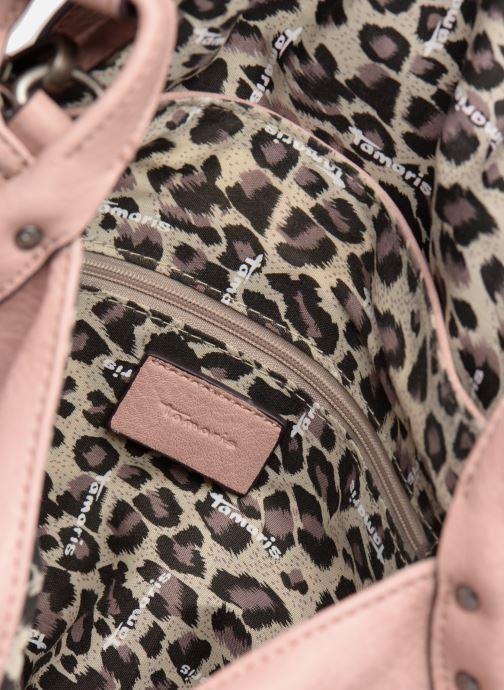 Handtassen Tamaris Bernadette Satchel Bag Roze achterkant