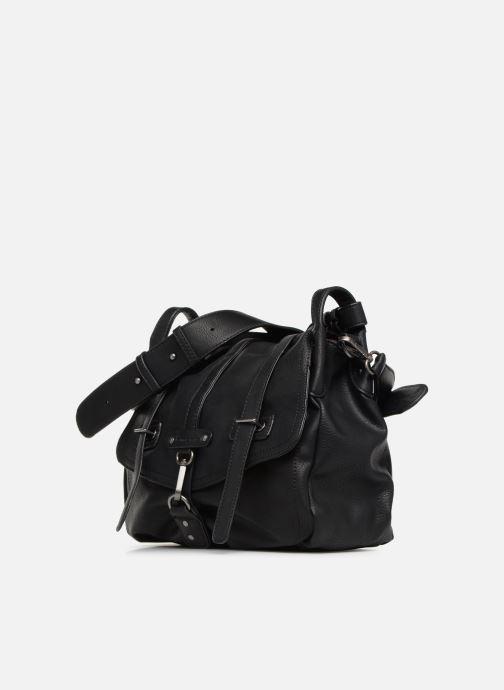 Handbags Tamaris Bernadette Satchel Bag Black model view